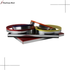 New hot selling products flexible plastic edge trim for 2mm pakistan pvc edge banding
