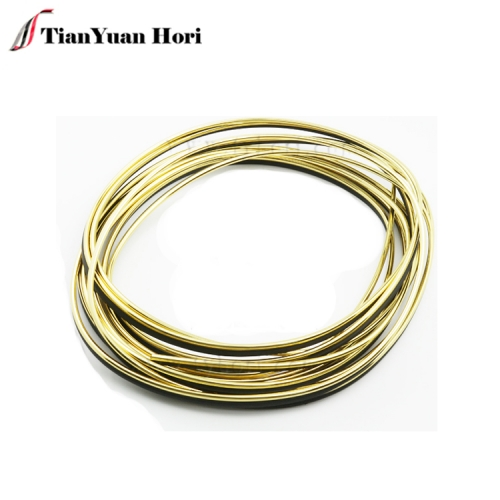 2018 hot selling Car Bumper Decorative Bright gold Strip Decorative Strip Polystyrene Line For Car
