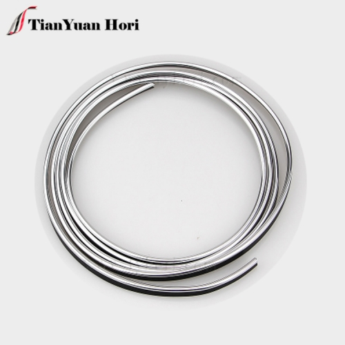 wholesale china factory accessories Flash silver car interior decoration Strip Line