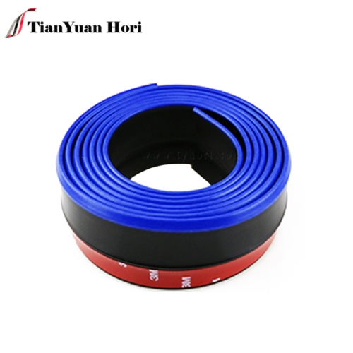 September tradeshow hot sell car bumper rubber front lip protector