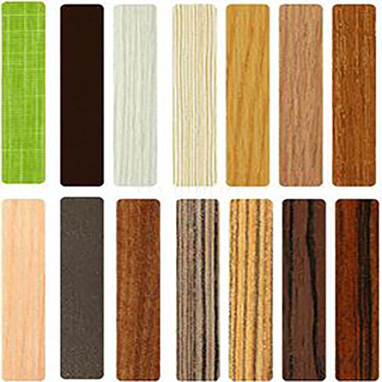Wood grain adhesive strip