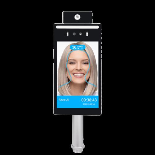 Winson 8P Linux Face Recognition Temperature Detect Access Control System
