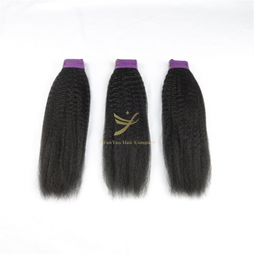 JiFanYao WHOLESALE 100% Human Hair Yaki
