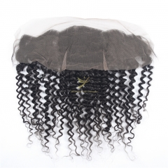 JiFanYao Hot Selling 100% Raw Hair 13*4 Lace Frontal DEEP CURLY