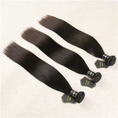100% Raw Virgin Hair Silky Straight