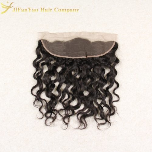 JiFanYao Hot sale 100% Virgin Hair 13*4 lace Frontal ITALIAN CURLY