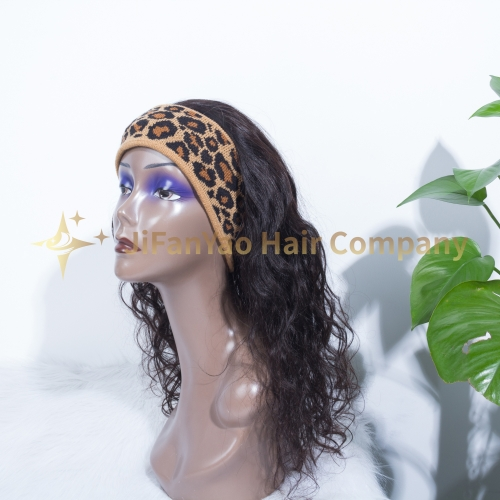 JIFANYAO HAIR headband wig top virgin hair
