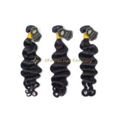 JIFANYAO HAIR TOP Virgin A Hair loose wave bundle