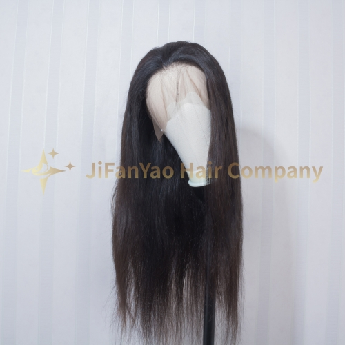 JIFANYAO HAIR 360 frontal lace wig TOP virgin hair straight hair