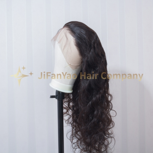 JIFANYAO HAIR 360 frontal lace wig TOP virgin hair body wave hair