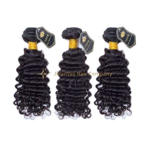 JIFANYAO HAIR TOP Virgin A Hair deep wave bundle