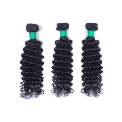 JIFANYAO HAIR TOP virgin green hair bundle deep wave hair