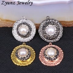5 Pieces Water-Drop shaped Pendant,pave rhinestone crystal,gem stone Image charm Pendant for DIY women jewelry necklace Finding PD926