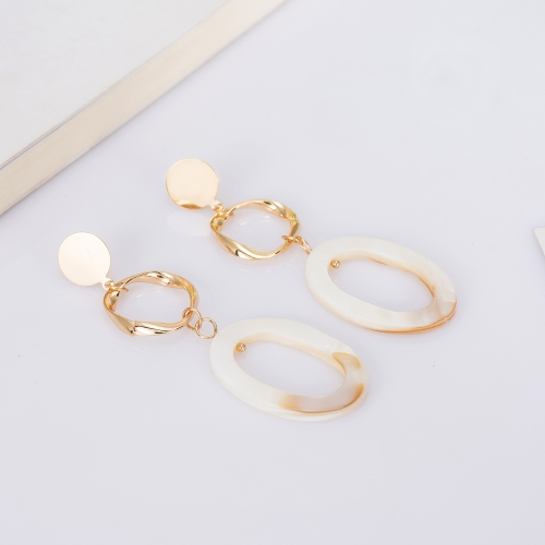 Holylove Novel Puncture Drop Dangle Statement Earrings for Women Daily Wedding Party Club Holiday 1 Pair with gift box