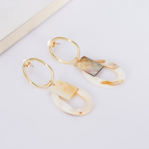 Holylove Statement Earrings for Women Novel Simple Puncture Drop Dangle Party Wedding Daily Club Holiday 1 Pair with gift box