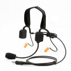 骨傳導+降噪麥克風結合通訊耳機