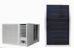 solar termal air conditioner window