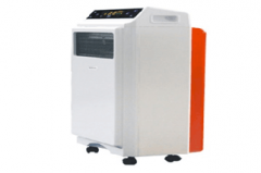 Air purifier humidification heater