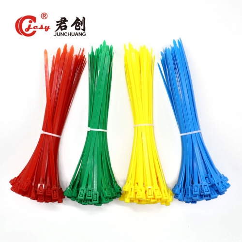 different colors of identification cable ties reus...