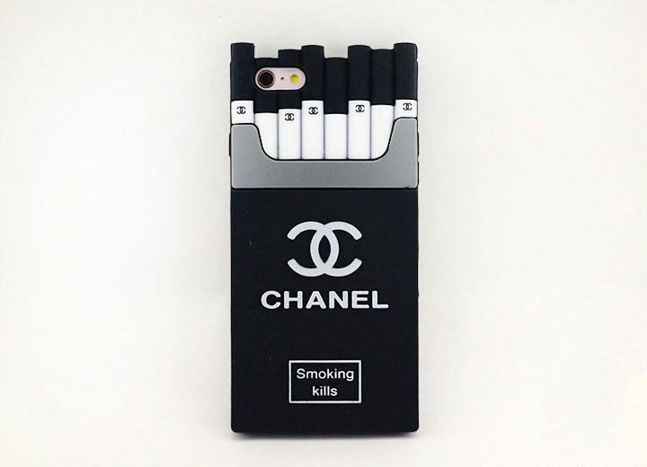 CHANEL iPhone7 ソフトケース ブラック