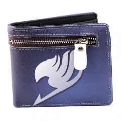 Anime Fairy Tail Guild Logo Cosplay Wallet PU Short Wallet