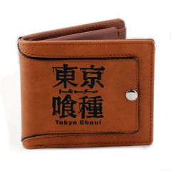 Anime Tokyo Ghou Short Wallet Good Gift for friend Coin Purse
