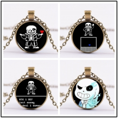 Game Undertale Sans Choker Necklace Charm Cosplay Jewelry
