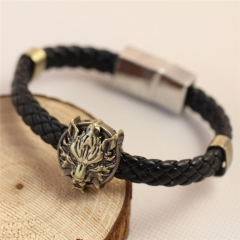 Game Final Fantasy Wolf Head Bracelets