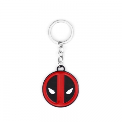 Movie Marvel Comics Deadpool Logo Keyring Keychain