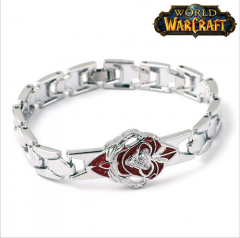 Game Jewelry World of Warcraft Bracelet WOW Lion Head Logo Bracelet