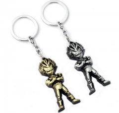 Anime Dragon Ball Z Super Saiyan Son Goku 3D Keyring Keychain
