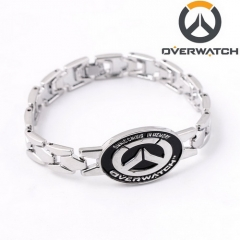New Arrival Overwatch Logo Bracelet Fashion Game Alloy Bracelets