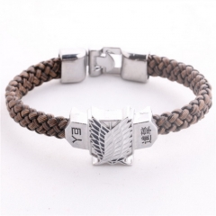 Anime Attack On Titan Bracelet Shingeki No Kyojin Scouting Legion Floating Bangle