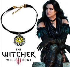 Game The Witcher 3 Wild Hunt Pendant Necklace