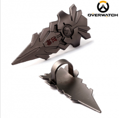 Game Overwatch Genji Weapon Finger ring Cosplay Jewelry