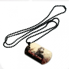 Game Killing Floor 2 Dog Tag Logo Necklace