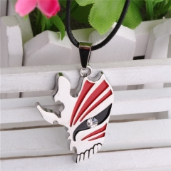 Anime Bleach Mask Enamel Necklace