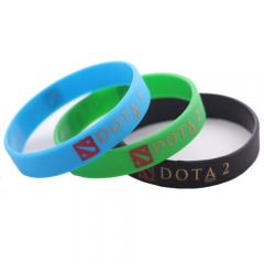 Game DOTA 2 Bracelet Fashion Turret Silicone Bangle Wristband