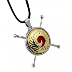 New Arrival Anime Jewelry Naruto Pendant Choker Necklace