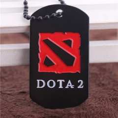Game Dota 2 Pendant Necklace Enamel Necklace Game Jewelry men's Gifts