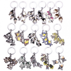 16 type Game Overwatch Hero Figure Keychain OW DVA Tracer Reaper Widowmaker McCree Mei Keyring