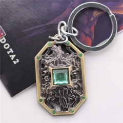 Game DOTA 2 Earth Spirit Logo Link Chain Pendant Necklace Keychain