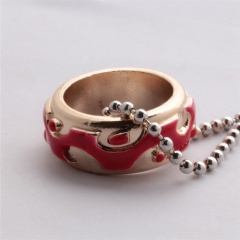 Hot Game Dota2 Treatment Ring 3D Titanium Steel Ring Necklace