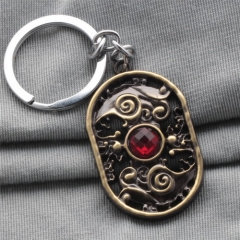 Online Game Dota 2 Defense of the Ancients Choker Necklace Keychain