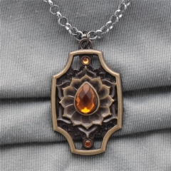 Game DOTA 2 Ember The spirit of ashes necklace Pendant Collection statement Necklace