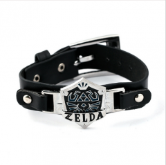 Game The Legend Of Zelda Leather Bracelets Cosplay Jewelry