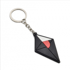 Game No Man's Sky Rubber Keyring Pendant PVC Keychain