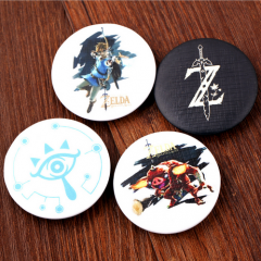 4 type Game The Legend of Zelda Logo Badge Cosplay Cool Brooch