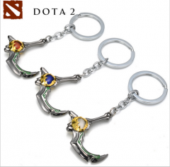 Hot Game Dota 2 The Golden Barb of Skadi Keychain Keyring