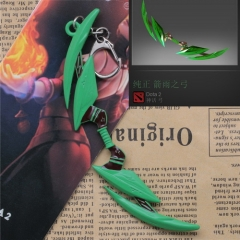 Hot Game Dota 2 Keyring Hero WR Windrunner's Weapon The Arrows of Bow Keychain Keyring
